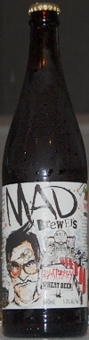 Mad Brewers Raspberry Wheat Beer