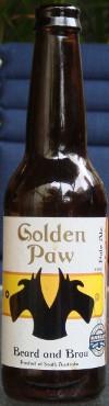 Beard & Brau Golden Paw Pale Ale